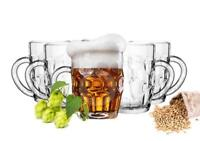 6 Biergläser mit Henkel 0,5L Bierseidel Bierkrüge Bierglas Bierkrug Pilsgläser