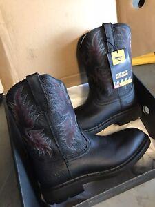 Ariat Men Boots MEN 11 SIERRA WIDE SQUARE  STEEL TOE SAFETY