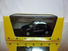 GIOCHER GR FM04 FIAT MAREA - CARABINIERI POLICE - BLUE 1:43 - EXCELLENT IN BOX