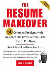 The Resume Makeover: 50 Common Problems With Resumes and Cover Letters-ExLibrary