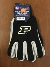 Purdue Boilermakers Adult Sport Utility Two Tone Gloves *Brand New* No Slip Grip