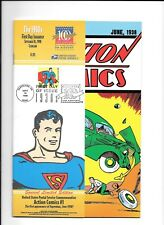 1998 Action Comic Book #1 Superman Collectible  1St Day Of Issue