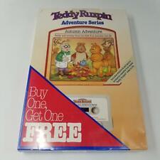Vintage Teddy Ruxpin Set 2 Sealed Princess Autumn Adventure Books Cassettes New