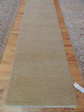 Modern Savannah Runner Oriental Area Rug 3'x10' neutral beige