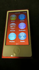 Special Edition Red Boxed iPod Nano 7th Gen 16GB Good condition DCYNL1LSF4P