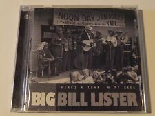 "BIG BILL LISTER ""There's A Tear in My Beer"" 1999 Bear Family Records (Germany)"