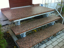 Blockstufe BALMORAL 100/35/4 Trittstufe Treppenstufe Aussentreppe Stein 4cm dick
