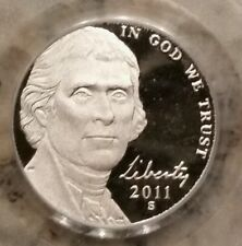 2011-S PCGS MONTICELLO Jefferson Nickel, PR69 DCAM (DEEP CAMEO), RARE FLAG LABEL