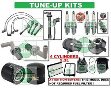 TUNE UP KITS for 98-02 ACCORD (LX, EX, SE) SPARK PLUG WIRESET FILTER CAP & ROTOR