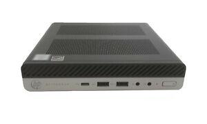 HP EliteDesk 800 G3 Mini i5 7500, 8GB DDR4, 256GB, WLAN & BT, Win 10 Pro - VAT