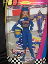 1998 50th ANNIVERSARY NASCAR Blonde Barbie Doll Collector Edition #20442 NRFB