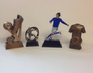 Football trophy/trophies -  4 pack bundle - Free engraving - Small size.