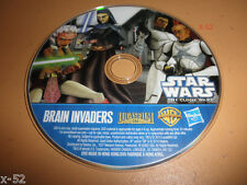 CLONE WARS animated series DVD star trooper AHSOKA Brain Invaders from 2 pack