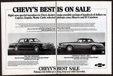 1979 CHEVROLET Monte Carlo Vintage Original 2 page Print AD - Chevy's best sale