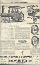 THE AMERICAN THRESHERMAN,OCTOBER,1901,REEVES & COMPANY THRESHING MACHINERY