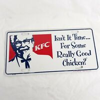 KFC Novelty Vanity Plate Kentucky Fried Chicken