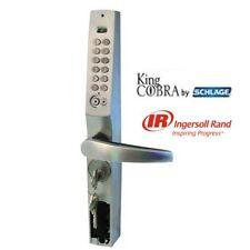 King Cobra estrecho Portillo Digital Botón Pulsador Cerradura de combinación con llave Bypass Nuevo