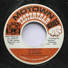 Soul 45 The Supremes - The Composer / No Matter What Sign You Are On Motown Yest