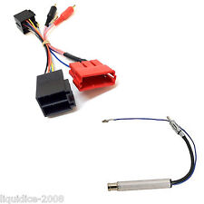 PC9-404 AUDI A4 2002 > CHORUS / CONCERT RCA TO ISO ADAPTOR STEREO LEAD & PC5-90