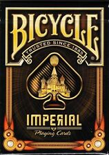 CARTE DA GIOCO BICYCLE BLACK IMPERIAL,poker size