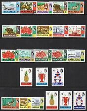 Bahamas Collection - various sets from 1968 - 1981 unmounted mint