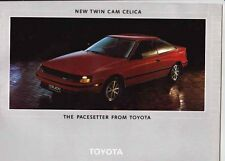 Two 1985 & 1986 TOYOTA Australian Range Brochures MR2 CELICA SUPRA CROWN COROLLA