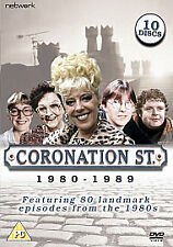 Coronation Street 1980 - 1989 ---- 10-Disc DVD Boxset With 80 Classic Episodes