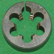 1'' X 8 NC TUNGSTEN 2'' DIAMETER ROUND ADJUSTABLE DIE- USED (E-2-12-1-47)