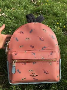 Coach Medium Charlie Backpack with Sunglasses Print NWT MSRP $378 Gift Sold Out
