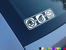 Skoda Plus Boost equivale a Sonrisas Auto Adhesivo Etiqueta Funny Turbo Fabia Octavia Vrs