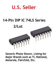 74LS40 TTL 14 Pin DIP IC:Dual 4-input nand buffer: 2/Lot