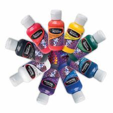 Jacquard Marbling Colour Paint for Fabric, Canvas, Paper, More - 9 Colours
