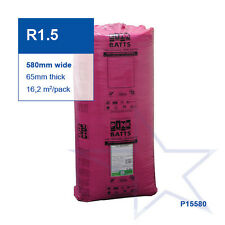 R1.5 | 580mm Pink Batts® Thermal Glasswool Wall Insulation