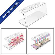More details for acrylic ice cream cone holder counter display stand perspex rack by displaypro