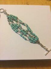 Lucky Brand Turquoise Beaded Bracelet #L124