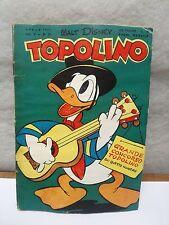 TOPOLINO N. 26 vol 5 DE ABRIL 1951 excelente + bollino Walt Disney Mickey Mouse
