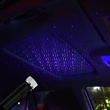 USB Car Auto Interior Atmosphere Star Sky Lamp Ambient Star Light LED Projector