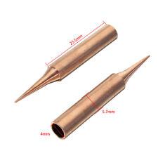 2 Puntas de soldadura de cobre para 900M-TI soldador estación