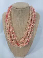 Jay King Mine finds  sterling silver  925  Angel Skin Salmon Coral necklace