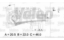 VALEO Alternador para CITROEN XSARA C15 BERLINGO PEUGEOT 206 VW FIAT 437139