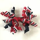 Gymboree Hometown Parade Hair Clip USA Patriotic Accessory Red White Blue July 4