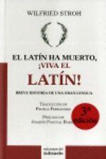 Latín ha muerto Viva el latín. NUEVO. Nacional URGENTE/Internac. económico. ENSA