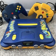 Nintendo 64 Pokemon Stadium Edition Console, 2 x Controllers & Leads (Tested)