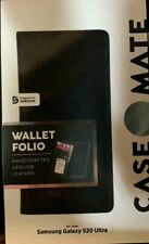 NEW Authentic CaseMate Wallet Folio Case for Samsung Galaxy S20 Ultra  BLACK
