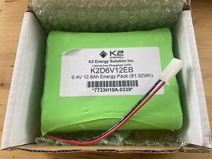 K2 Energy 6.4V 12.8Ah Soft Pack Lithium-Iron Phosphate LiFEPO4 Battery