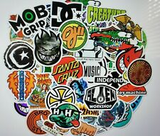 50 DIFFERENT VINYL STICKERS SKATEBOARD LAPTOP FREE SHIPPING
