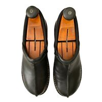 Womens Eastland KELSEY Shoes Size 11 M Clogs Black Leather Split Toe