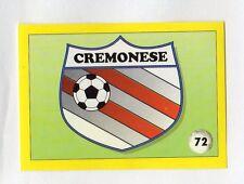 figurina IL GRANDE CALCIO VALLARDI 1992 NUMERO 72 CREMONESE SCUDETTO