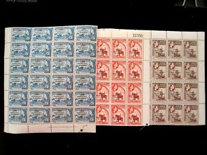 GHANA - SCOTT# 25-27 - BLOCK 24 - CS - MNH - CAT VAL $186.00