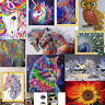 Diamond Painting Embroidery Cross Stitch Kit Horse Floral Owl Peacock Home Decor